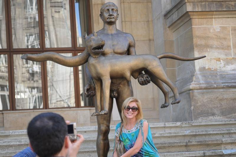Romos imperatoriaus Trajano statula susilaukė gausios kritikos