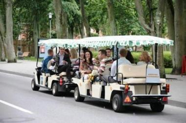 Elektromobiliai jau rieda Vilniaus gatvėmis