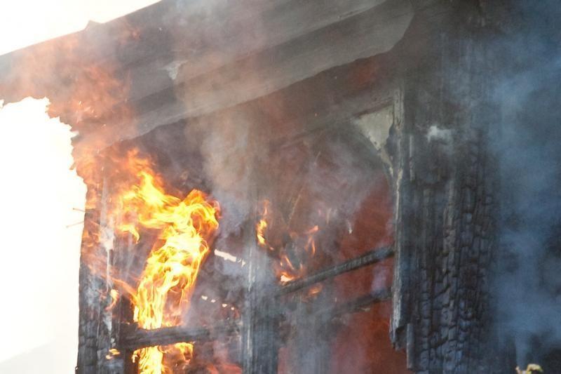 Jonavoje gaisravietėje rastas vyro kūnas
