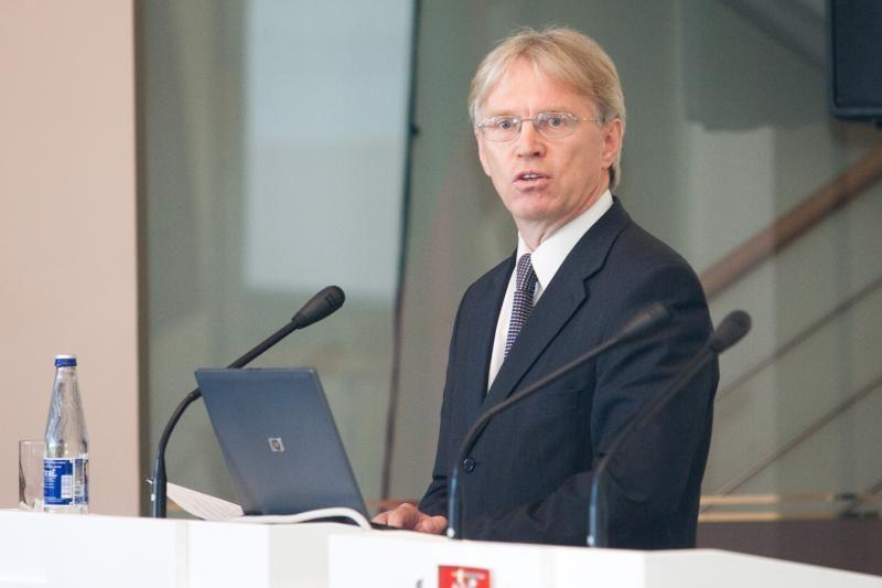 D.Jankauskas Švedijoje aptarė virtualių sąskaitų įdiegimo galimybes
