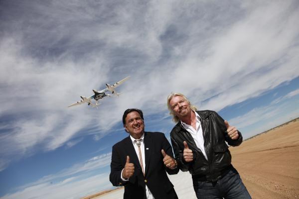 Bransonas atidarė pirmąjį pasaulyje kosmoso uostą