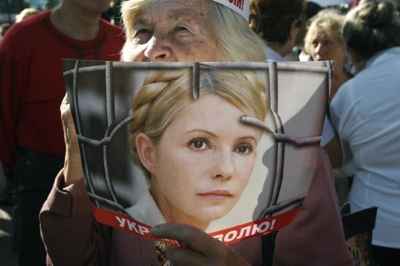 Ukrainoje – kampanija už Nobelio taikos premijos skyrimą J.Tymošenko