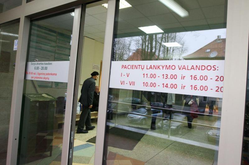 Gydytojų skaičiumi Kaunas toliau lenkia Vilnių ir Klaipėdą