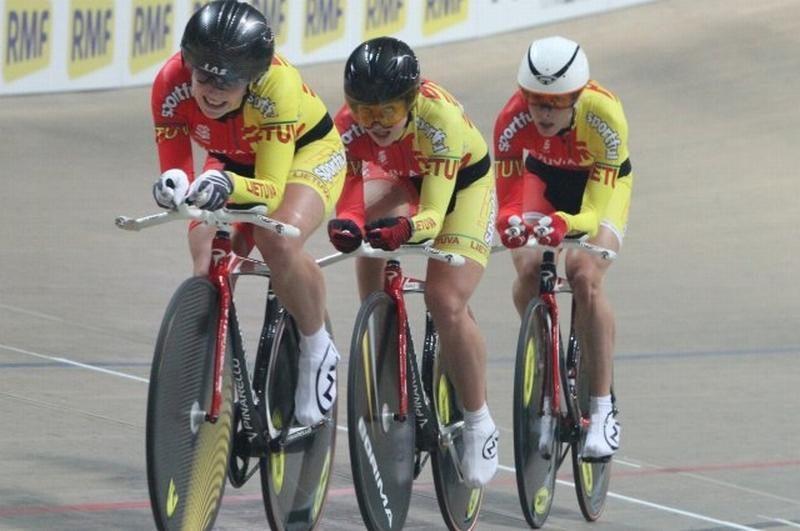 Pasaulio dviračių treko taurės etape V.Pikauskaitė liko penkta