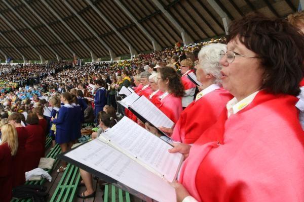 Klaipėdoje šurmuliavo dainų šventė