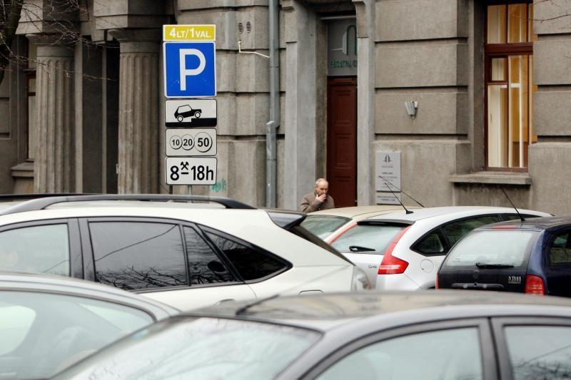 Kauno vairuotojai turės per 10 minučių spėti susimokėti už stovėjimą