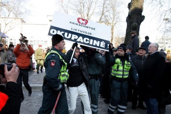 Pagonybę propaguoti Kaune - draudžiama?