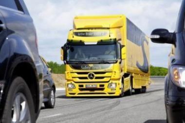 """Mercedes-Benz Actros"" tapo ""Lietuvos metų vilkiku 2011"""