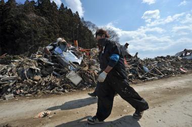 Japonijoje vėl drebėjo žemė