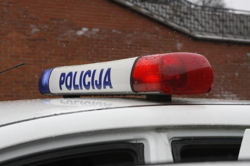 Iš Vilniaus rajono komisariato pasprukęs įtariamasis sulaikytas