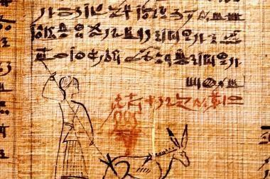 Programa padės iššifruoti senovinius tekstus