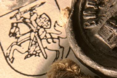 Riteris ant balto žirgo – tautų simbolis