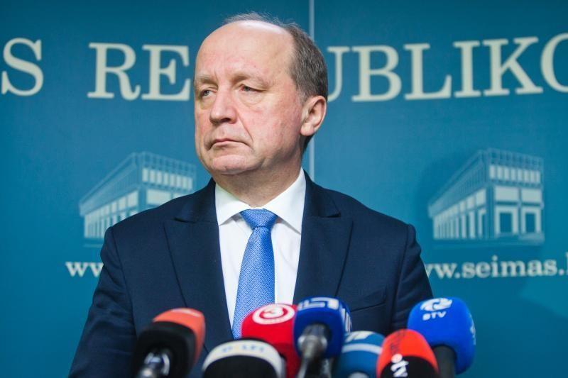 Premjeras: profesinių sąjungų lyderiai užsiima politiniais žaidimais