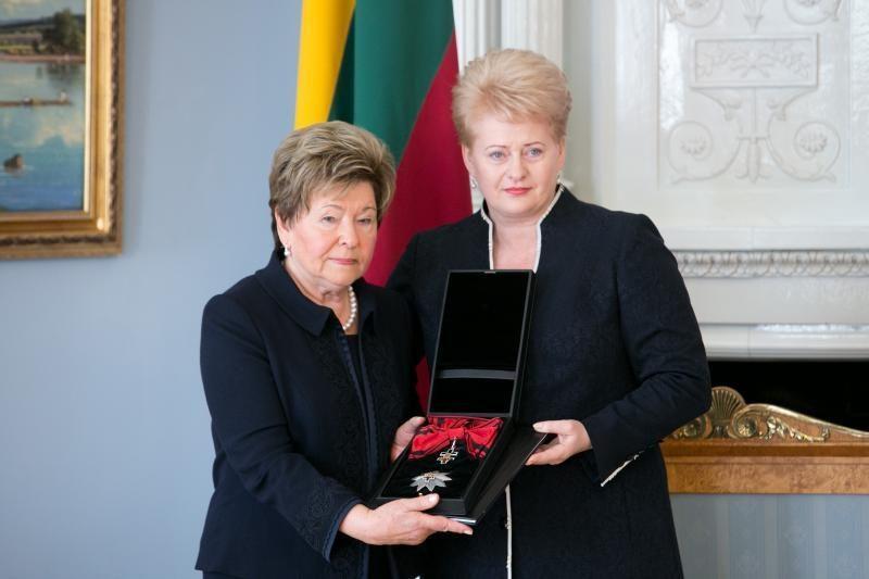 N.Jelcina: aš dėkinga, kad Lietuva taip įvertino Borisą