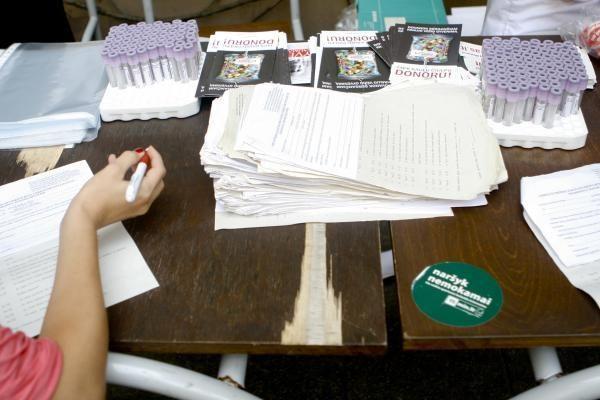 Mokytojų namų kiemelyje - donorystės akcija ir nemokami atlikėjų pasirodymai