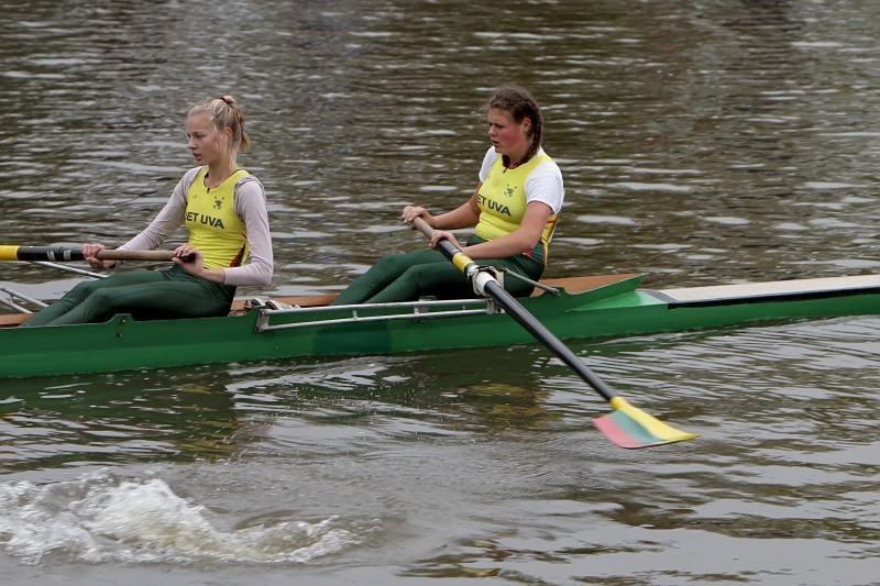 Danės upėje – Lietuvos irklavimo sezono pabaigtuvės