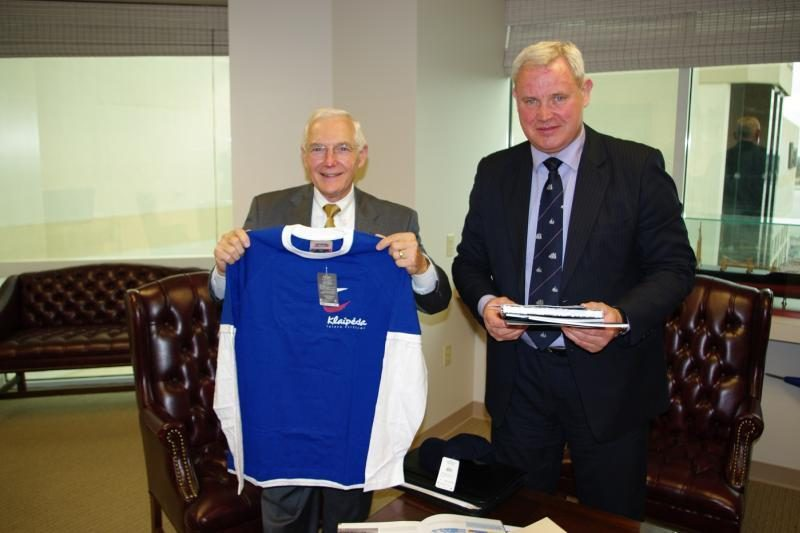 Klaipėdos meras lankosi Naujajame Orleane