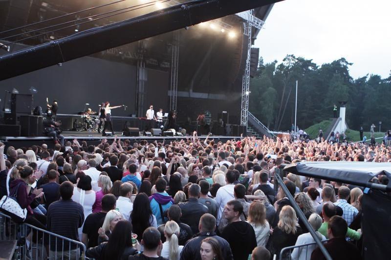 E.Dragūno koncertas - be incidentų
