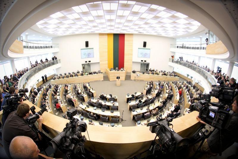 Iki rinkimų parlamentarai Seime ketina dirbti dvi dienas per savaitę
