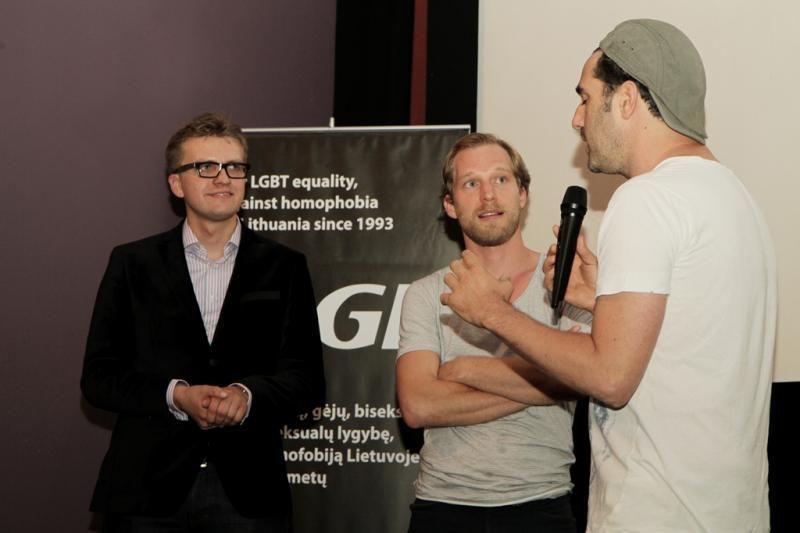 """Pirmasis LGBT filmų festivalis """"Kitoks kinas"""" atvėrė duris"""