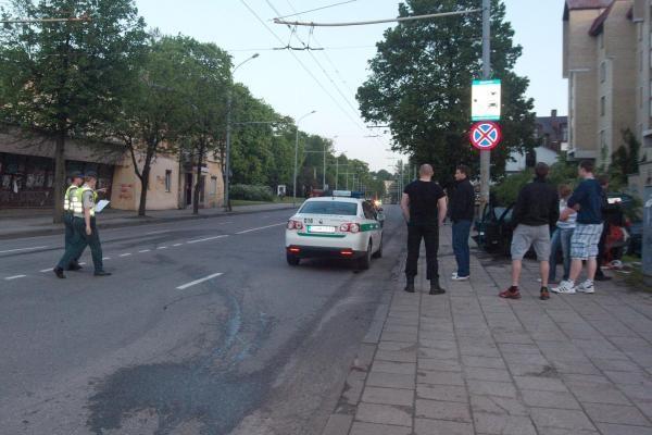 Per avariją Vilniuje nukentėjo trys žmonės