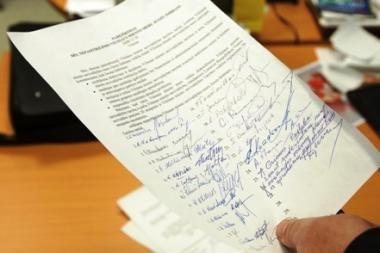 Vyriausybė nesutinka merams po interpeliacijos panaikinti pusmečio imunitetą