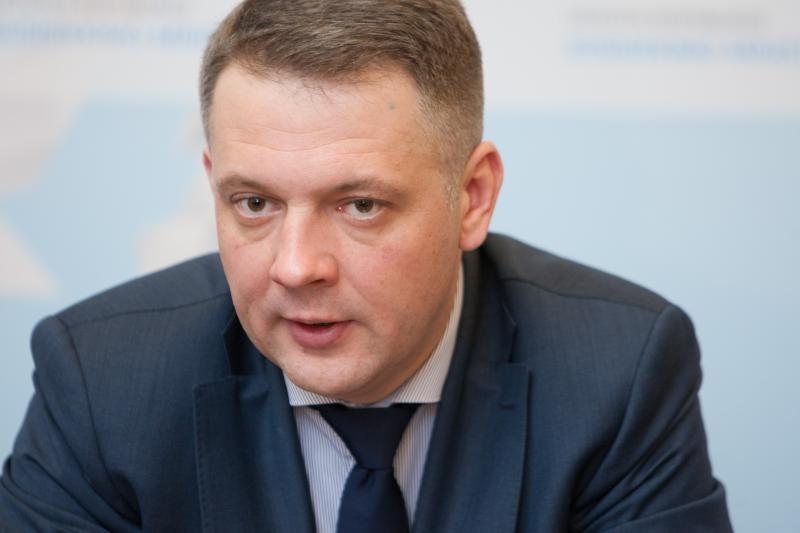 """Ministras E. Masiulis Kijeve pristatys projektą """"Vikingas"""""""