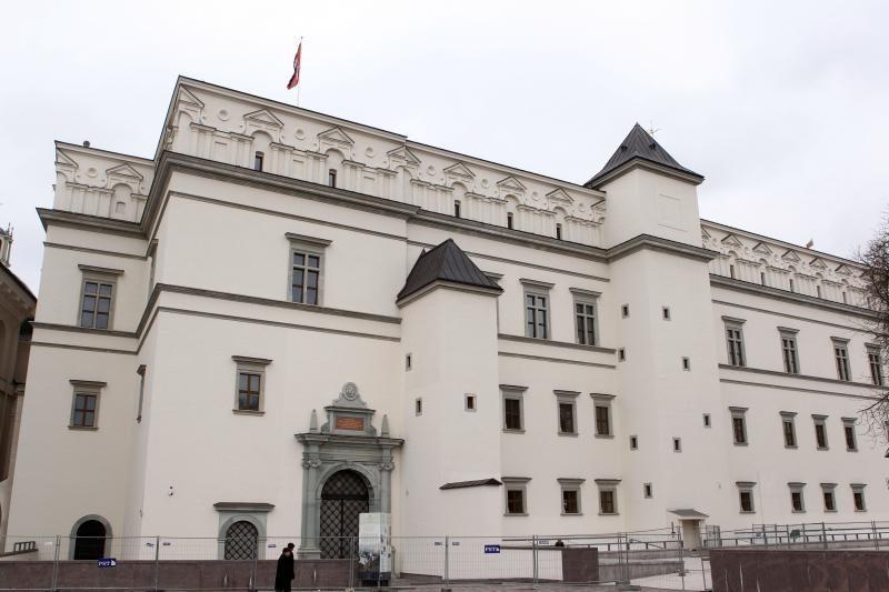 Paruoš Valdovų rūmus ES pirmininkavimo renginiams