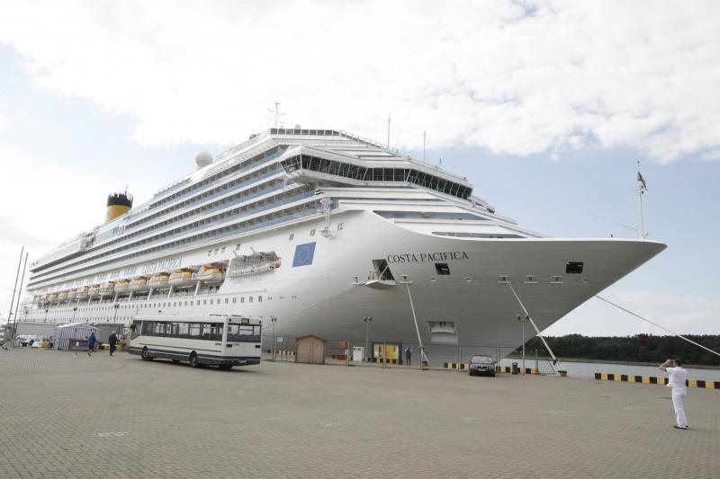 Milžiniškas kruizinis laivas į Klaipėdą užsuko paskutinį kartą