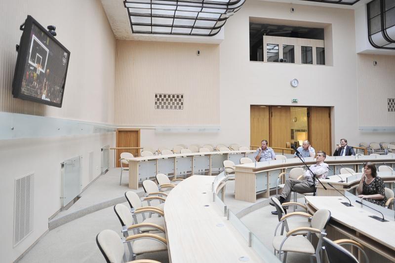 Seimas pritarė prezidentės veto dėl gyventojų skaičiaus savivaldybėje