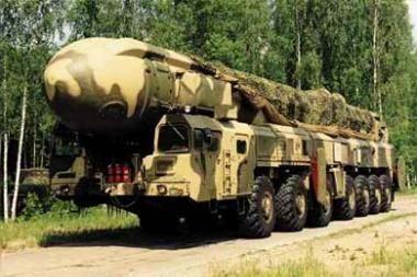 Rusijoje kuriamos naujos kartos strateginės raketos