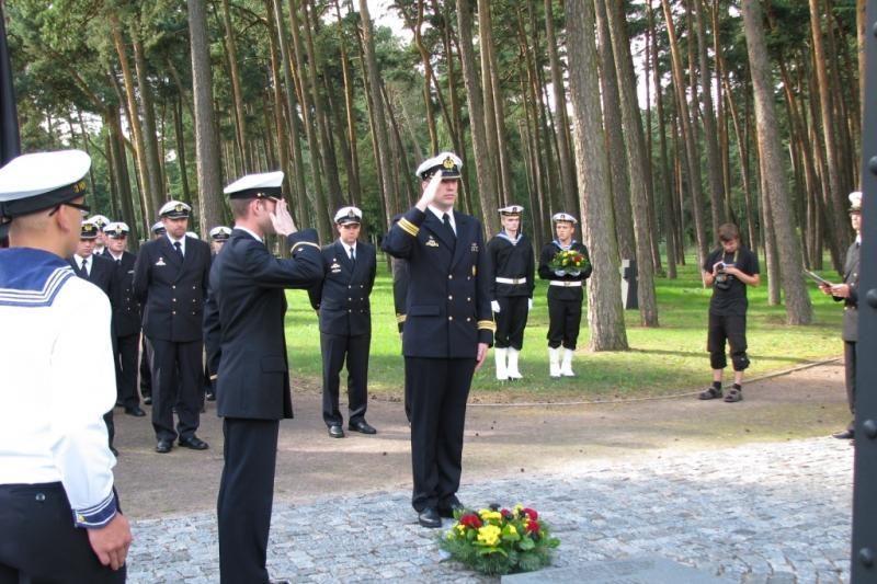 Klaipėdoje - Vokietijos karinio laivyno atsargos karininkų delegacija