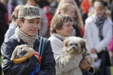 Gargžduose Pasaulinę gyvūnų dieną paminėjo daugiau nei 500 žmonių