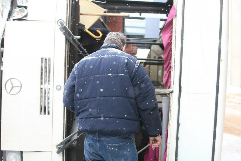 Vilniuje apvirto autobusas, 2 keleiviai išvežti į ligoninę (papildyta)