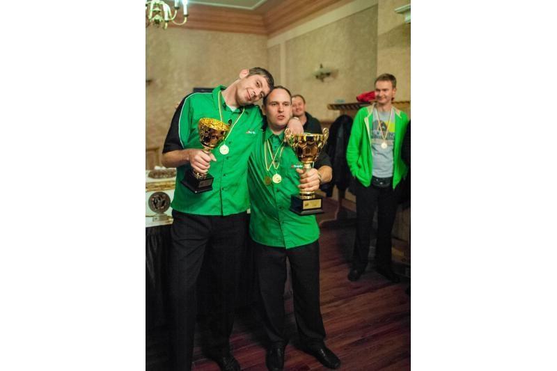 Lietuvos smiginio čempionate žaidimo madas diktavo kauniečiai