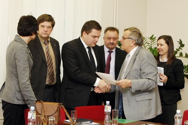 Klaipėdos universitete – naujas rektorius