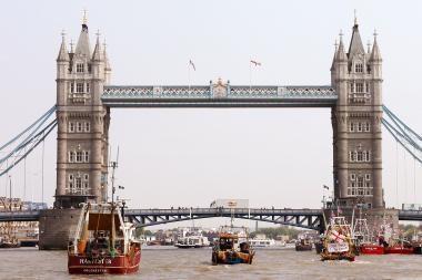 Londonas patenka į kišenvagių mėgstamiausių miestų dešimtuką
