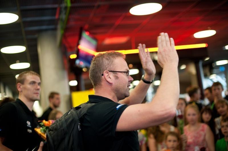 Į Lietuvą sugrįžęs K.Kemzūra: į ligotus kaltinimus nereaguosiu