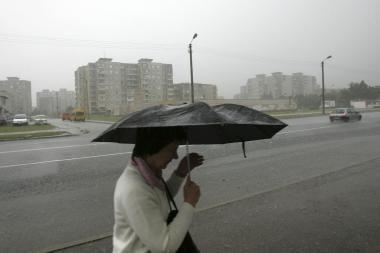 Orai Kaune: ar šią savaitę sulauksime sniego?