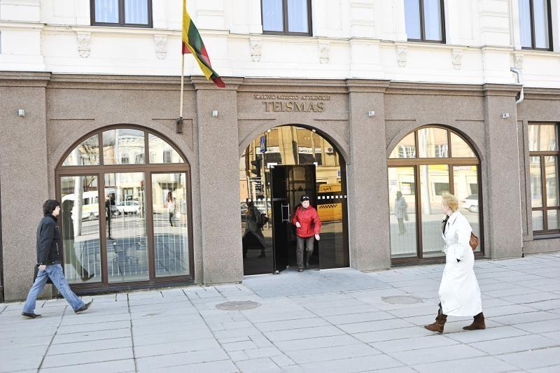 Pranešimas apie sprogmenį Kauno teisme nepasitvirtino