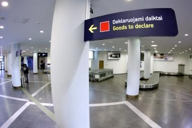 Atnaujintas Vilniaus oro uosto bagažo atsiėmimo skyrius