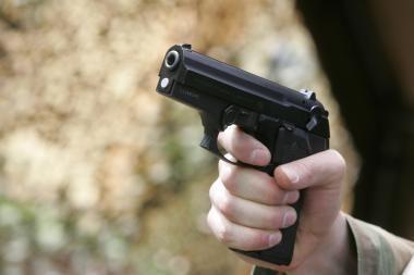 Vilniaus centre apšaudytas ir sumuštas jaunuolis