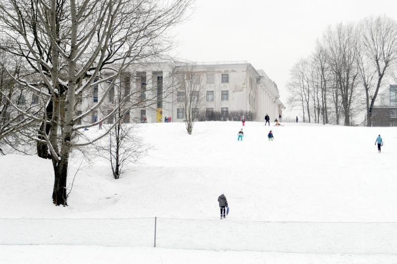 Pūgos baimė išvaikė žiemos pramogų gerbėjus