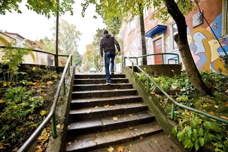 Kopdami Kauno laiptais nebeišsisuksime kojos?