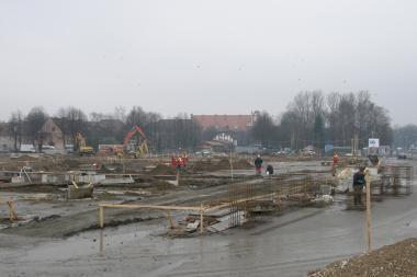 Klaipėdos autobusų stoties pastatas sulygintas su žeme