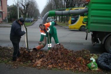 """""""Kauno švarai"""" – išskirtinės sąlygos miesto gatvėms barstyti ir valyti (papildyta)"""