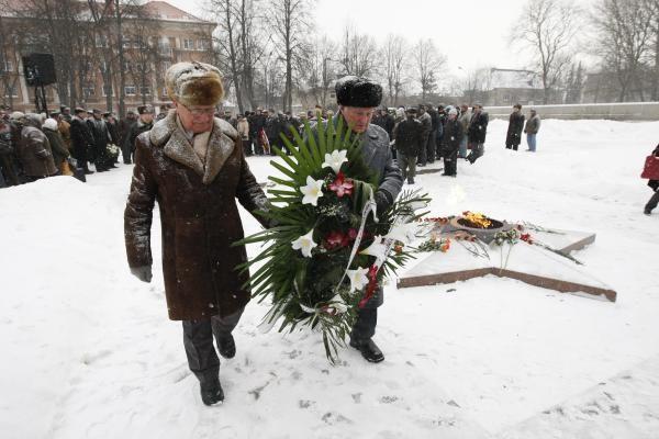 Paminėtos 65-osios Klaipėdos šturmo metines