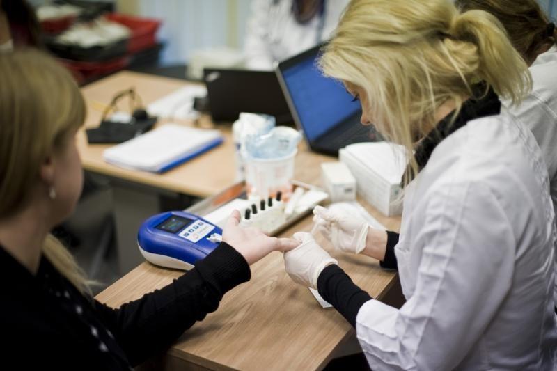 Lietuvos žmonėms kraują aukojo ir užsienio studentai