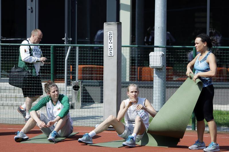Palangoje – pirmoji Lietuvos moterų krepšinio rinktinės stovykla