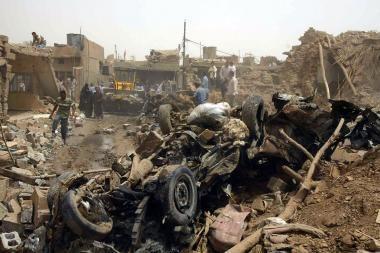 Irake per mirtininko išpuolį žuvo 25 žmonės, sužeista 150